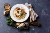 Creamy Cauliflower Risotto with Mushrooms Recipe