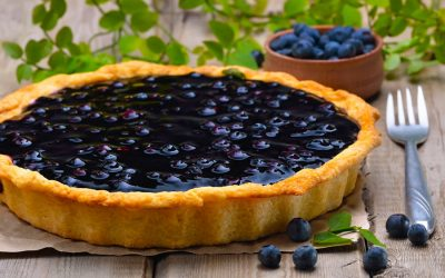 Simple Wild Blueberry Pie Recipe