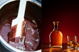Homemade Bourbon Chocolate Sauce