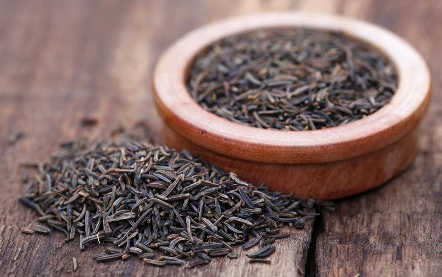 Caraway seeds as a substitute for mustard seed